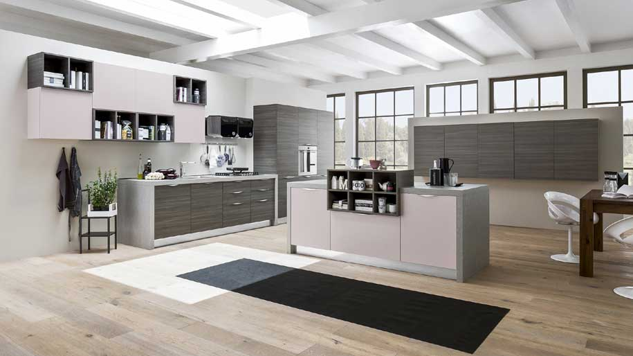 Cucine con dispensa affordable mini cucine cucine for Cabina cucina isola
