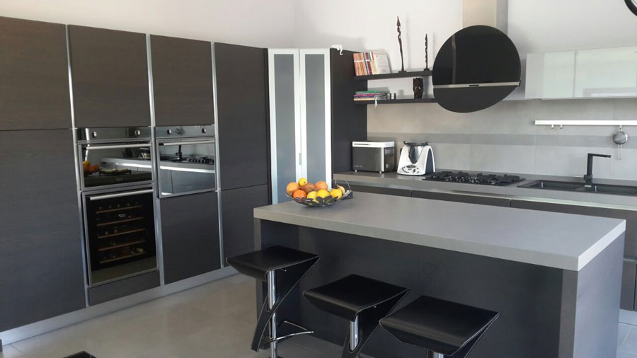 Arrex avena una cucina moderna con isola - Arrex cucine moderne ...