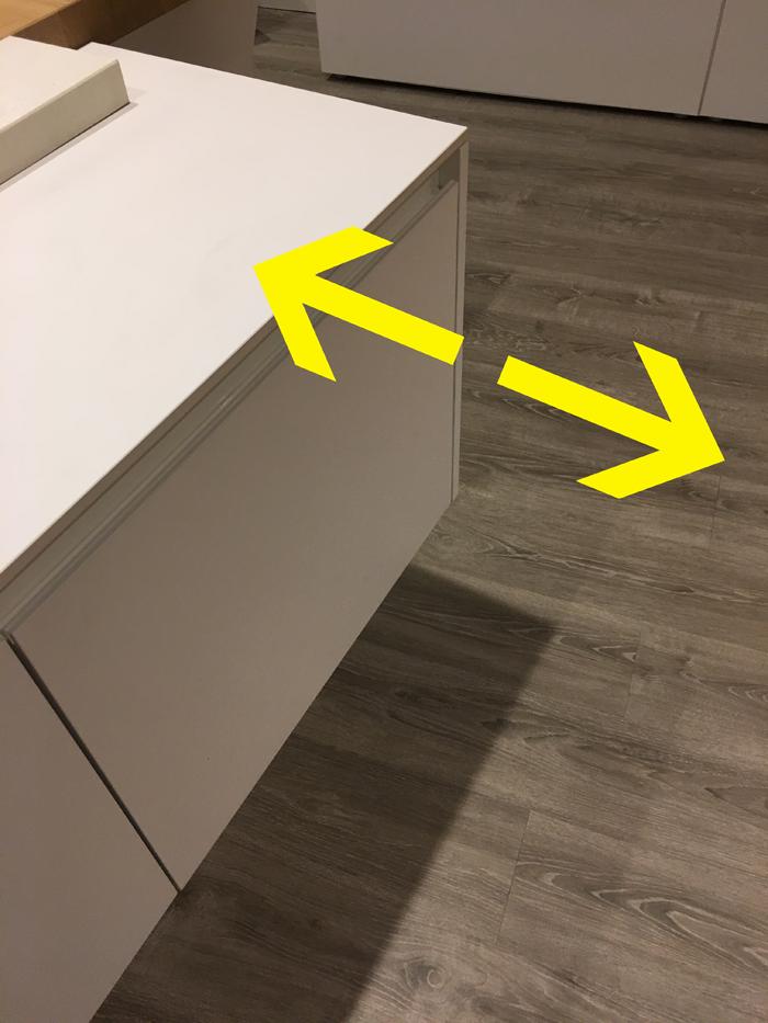 Regolare ante armadio casamia idea di immagine - Sostituire ante cucina ...