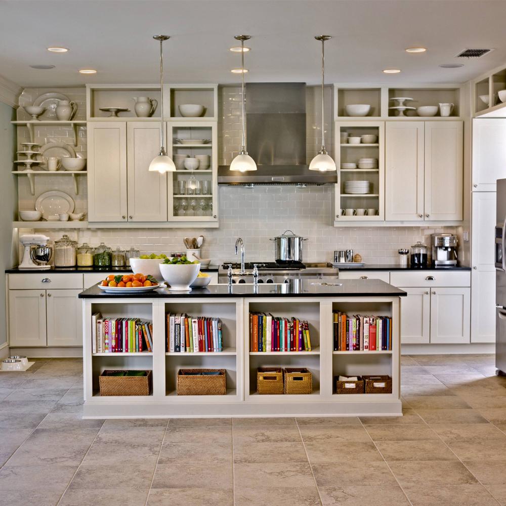 Ristrutturiamo: cucina e zona giorno open space.