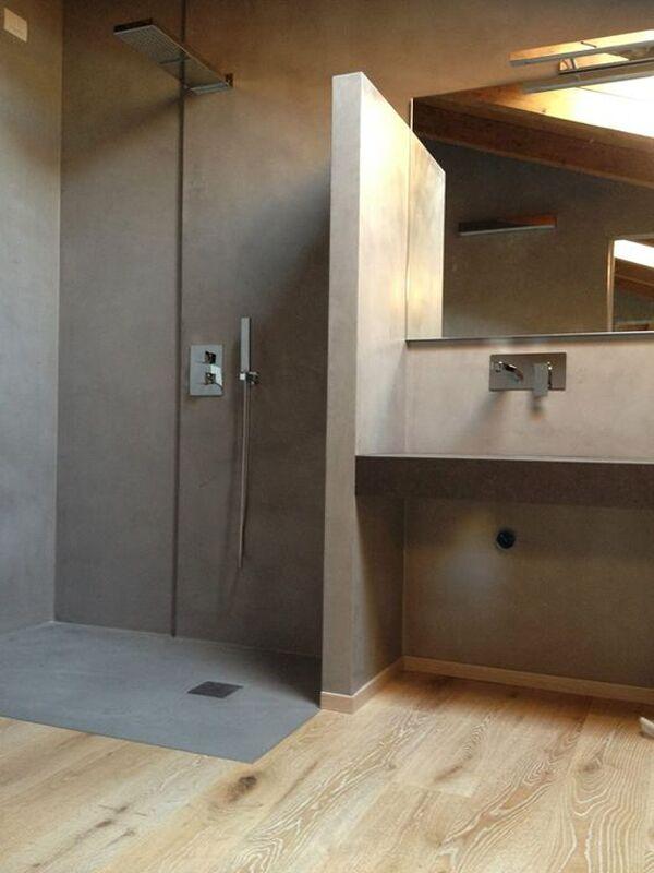 Ristrutturare il bagno scegliamo insieme la resina - Pavimento in legno per bagno ...