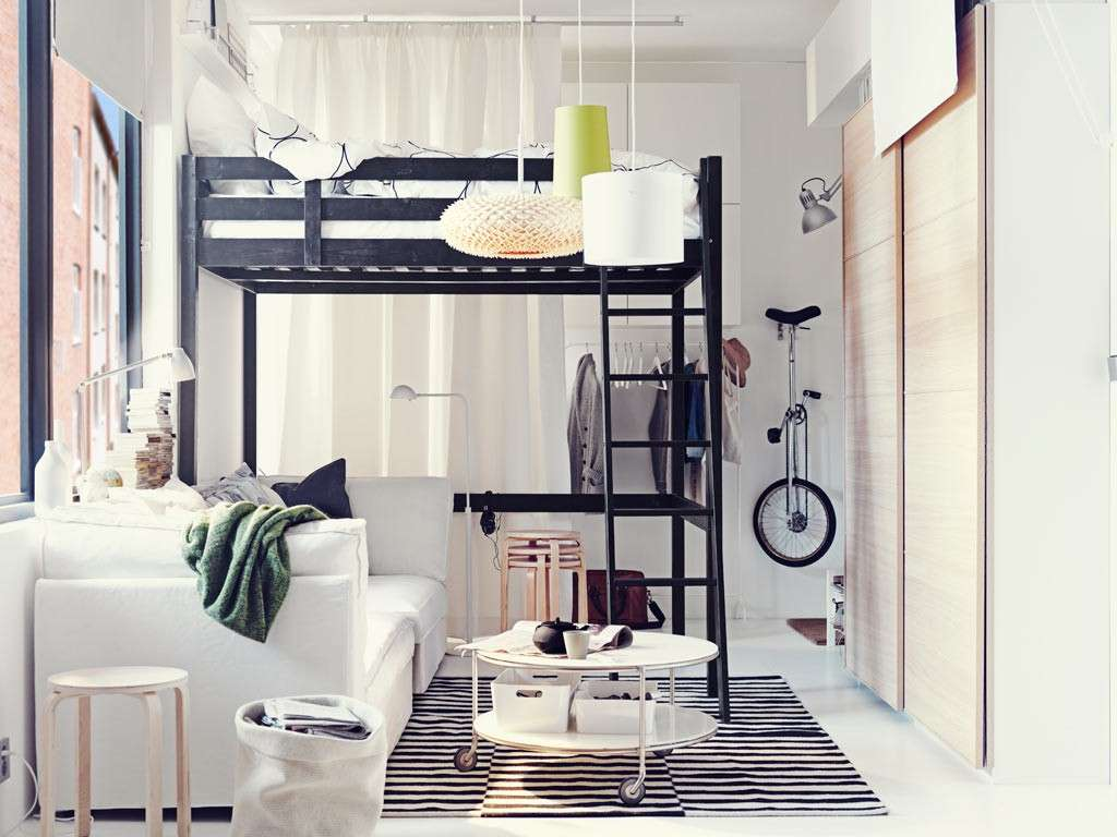 4 modi di arredare la camera da letto di piccole dimensioni.