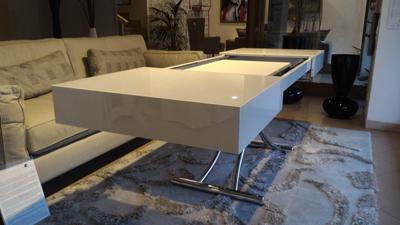Box il tavolino trasformabile ozzio italia for Tavolo trasformabile
