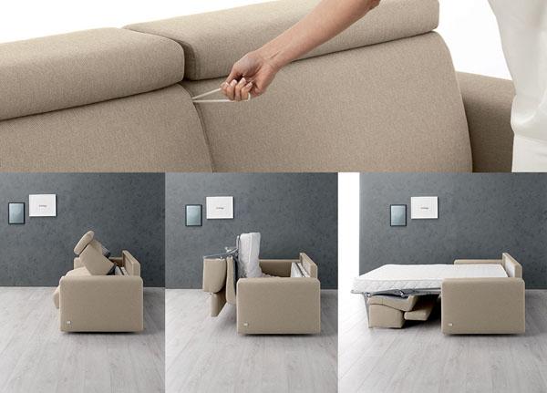 Come scegliere il divano perfetto for Divano letto doimo