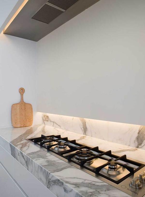 Scegliere il rivestimento della cucina for Modern zion kitchen