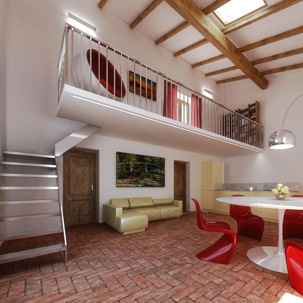 Arredare casa for Piani casa fienile con soppalco