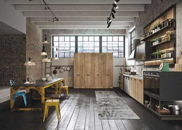 Come creare un soggiorno in stile industriale