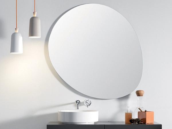 Specchi per bagno design. specchio doppio per bagno geometrico with