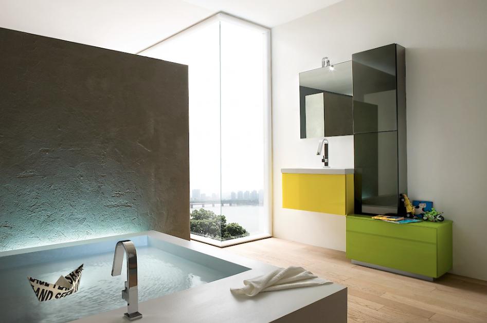 mobili convenienti torino: mobile bagno con doppio lavabo arredo a ... - Mobili Convenienti Torino
