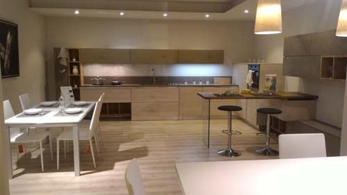 Cucina Moderna In Legno Massello Di Rovere Spazzolato Oliata E Cerata Picture...