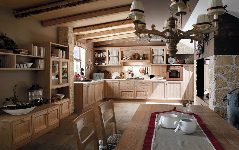 Mobili cucina country