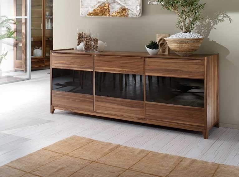 Soggiorni moderni a torino arredamenti vottero - Mobili soggiorno legno massello ...