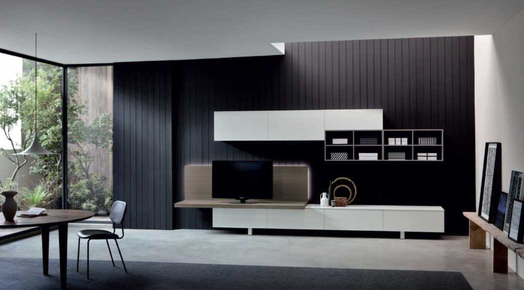 Soggiorni Moderni In Torino : Soggiorni moderni a torino arredamenti vottero