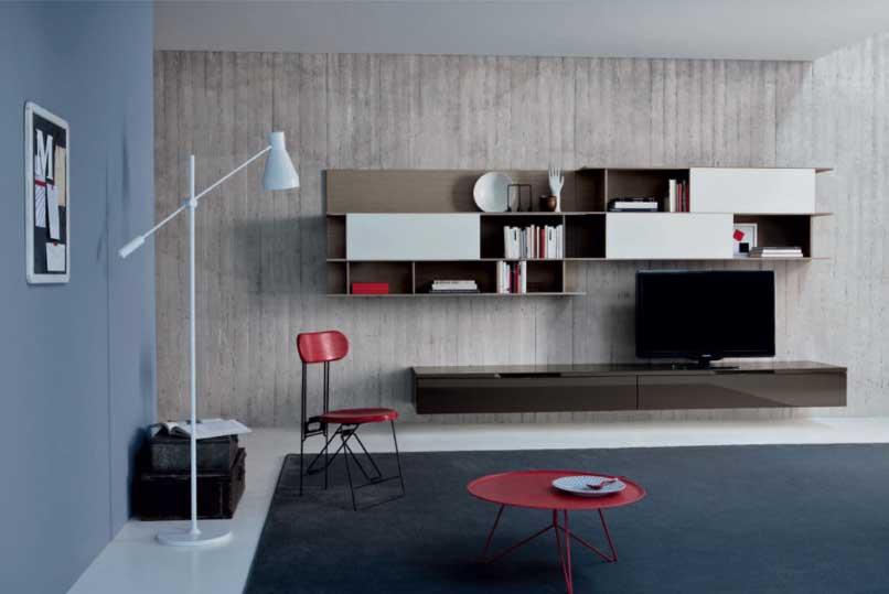 Soggiorni moderni a torino arredamenti vottero for Foto mobili soggiorno moderni